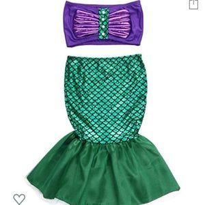 2t mermaid costume